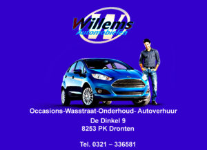 Willems-automobielen Advertentie